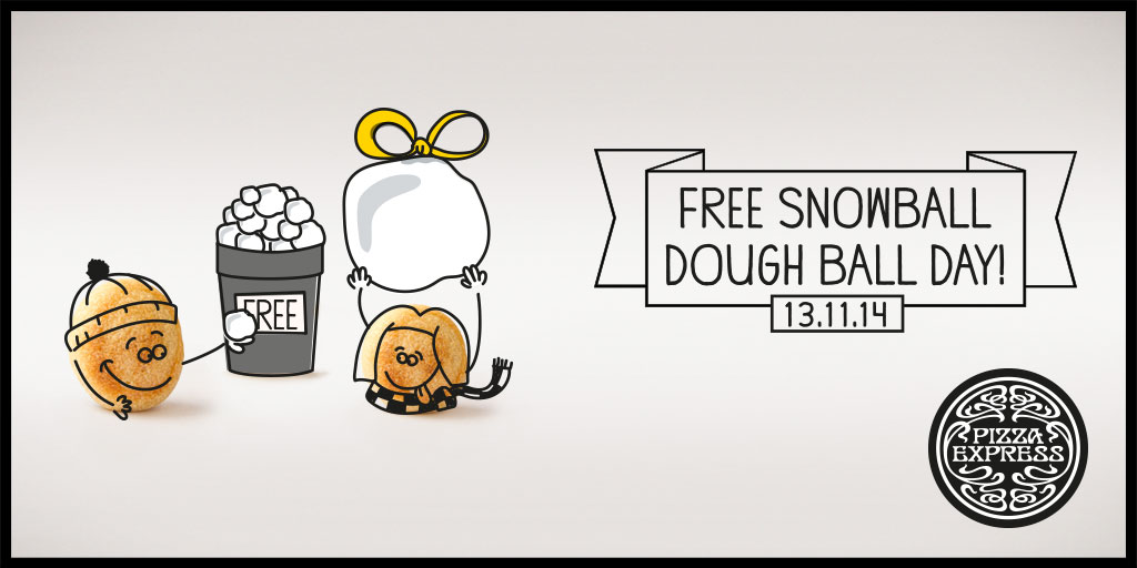 Dough balls gratis
