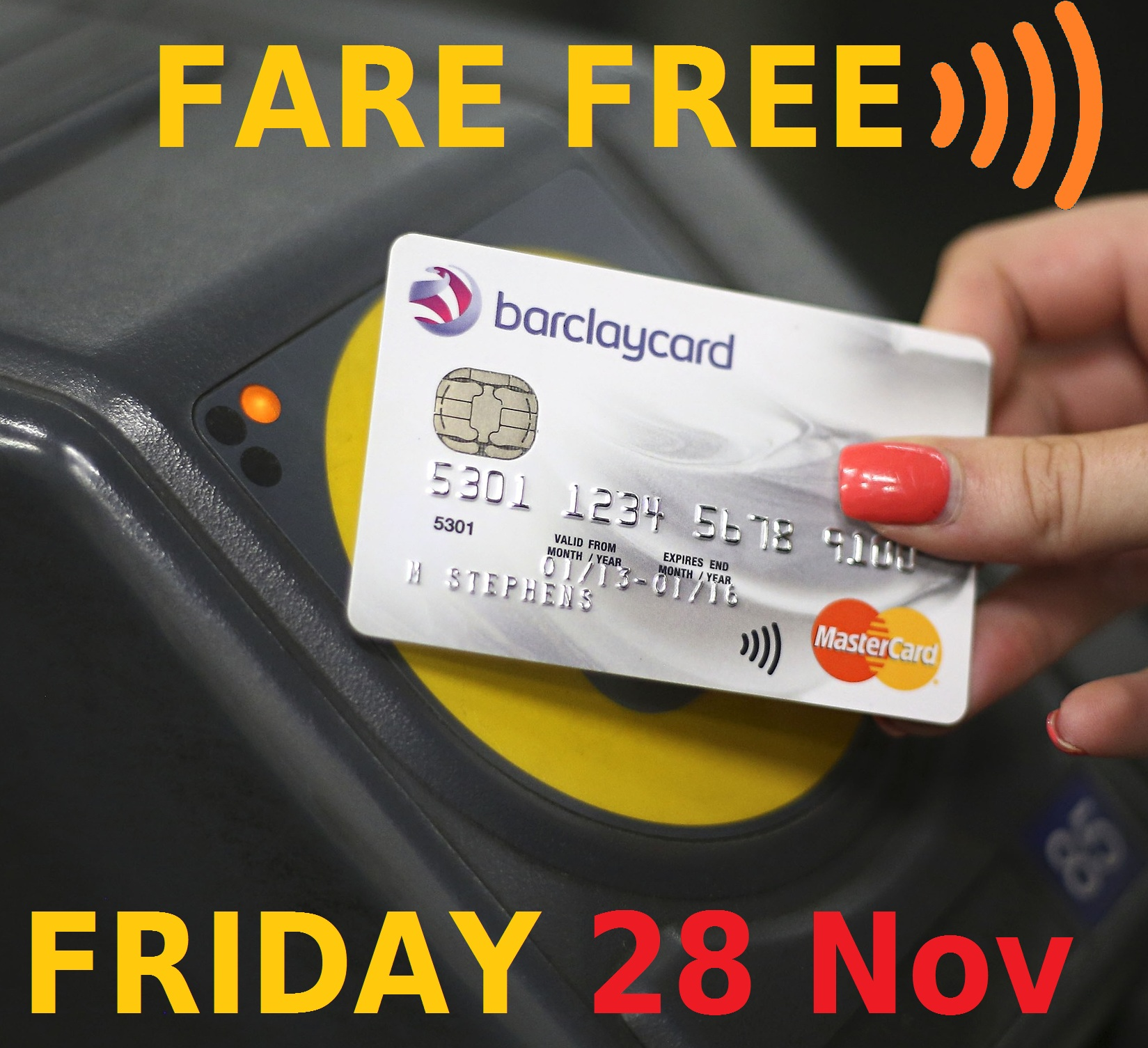 Fare free Friday