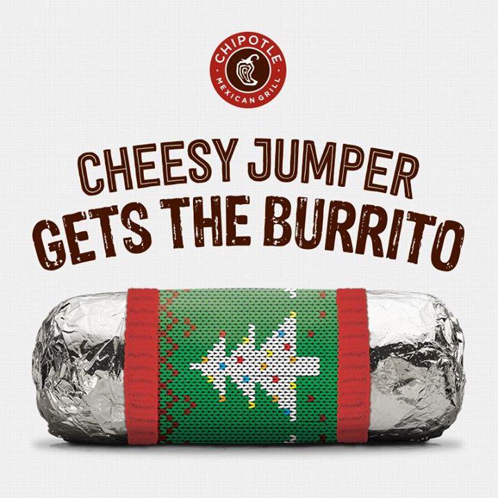 burrito gratis chipotle