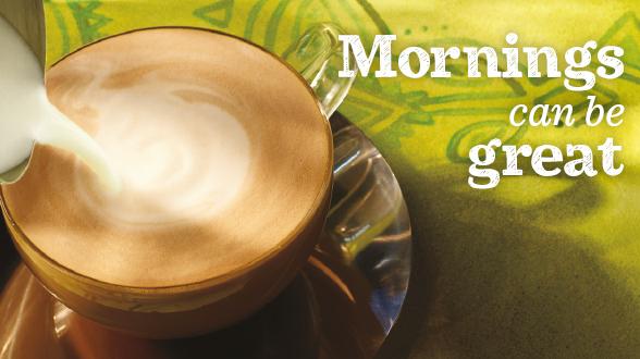 cafés a £1.50 en Starbucks