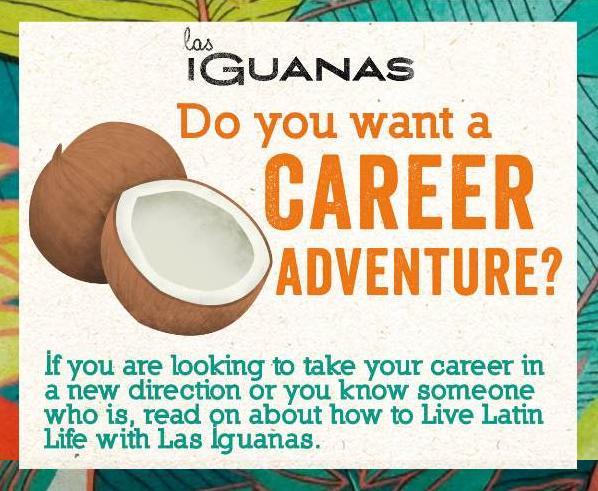 ofertas de trabajo en Las Iguanas