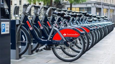 Disfruta el sábado 22 de agosto de 2015 de viajes gratis en Santander Cycles en Londres