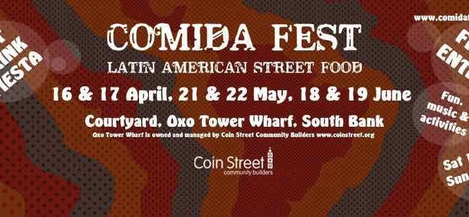 Festival de comida de latinoamérica en Londres. Comida Fest.