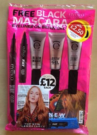 eyeko maquillaje gratis en revistas