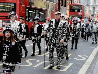 Pearly Queens and Kings of London