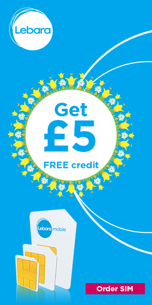 Get 5 pounds free credit
