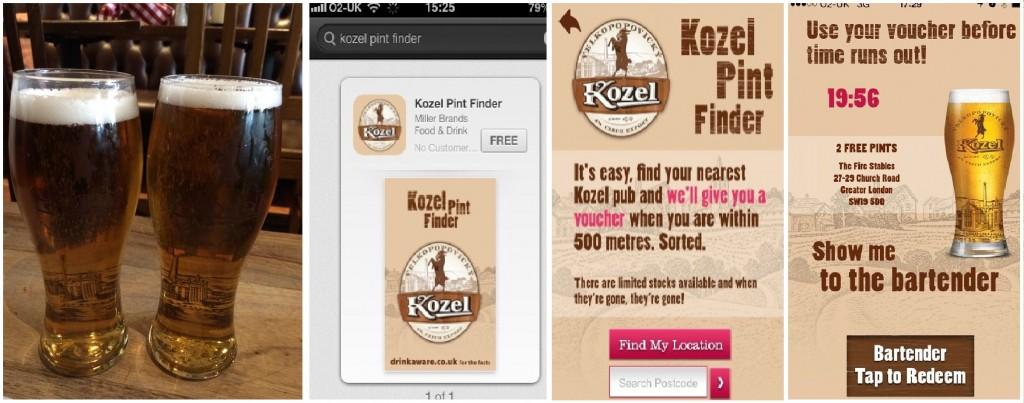 Kozel Beer Gratis Free Ahorrar en Londres