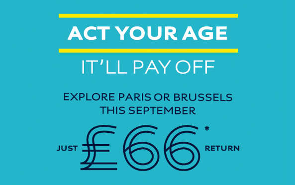 eurostar youth london gratis