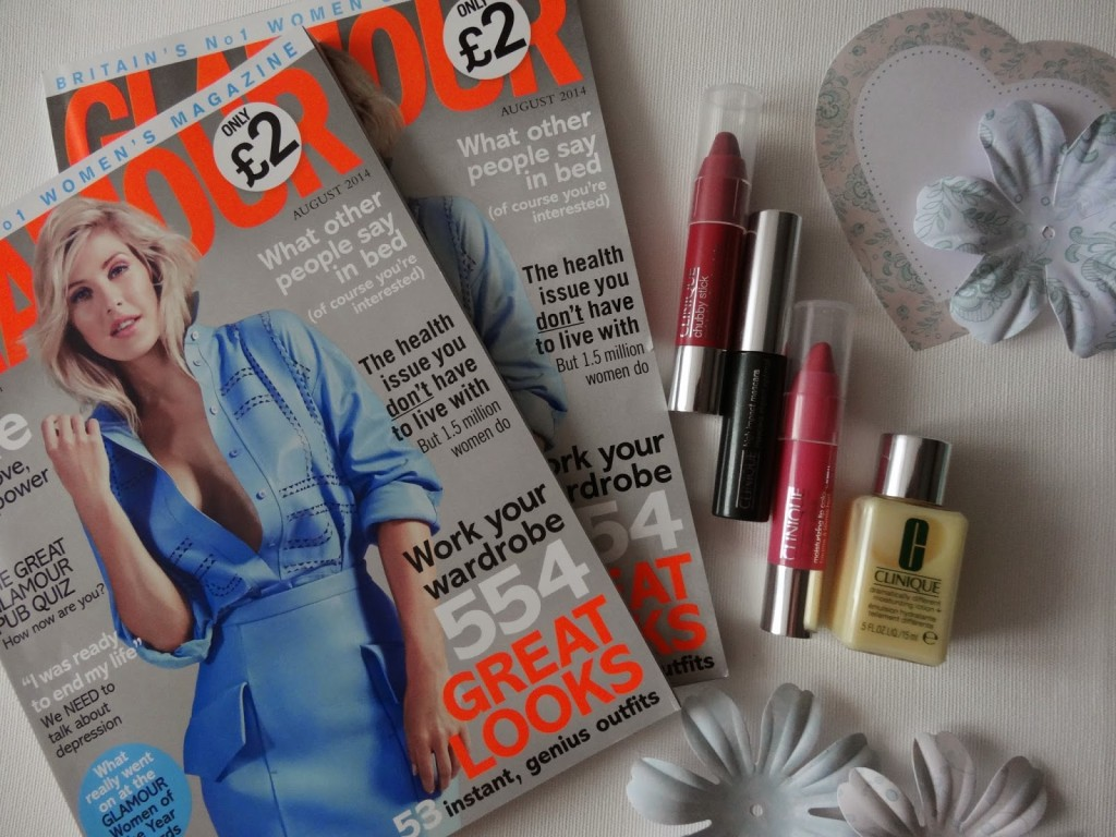 glamour magazine freebies londongratis clinique