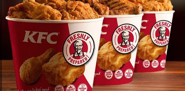 Martes 9 piezas de pollo KFC por 5.99