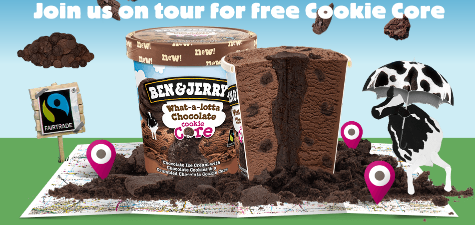 helados gratis Ben & Jerry's Tour