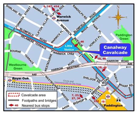 cavalcade map