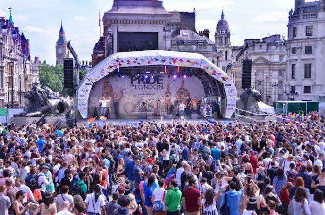 London Pride Trafalgar Square