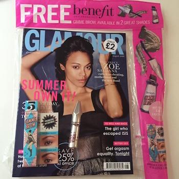 glamour maquillaje gratis