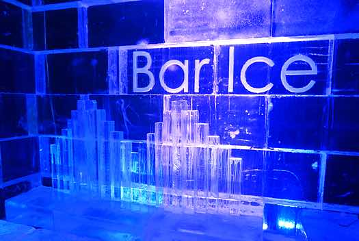 Bar Ice Winter Wonderland Londres